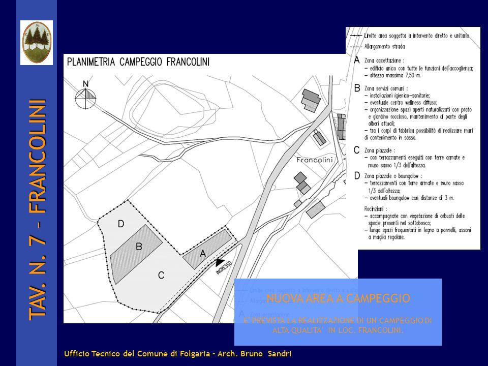 Ufficio Tecnico del Comune di Folgaria – Arch. Bruno Sandri
