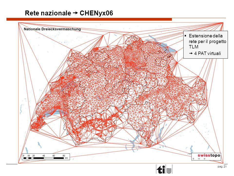 Rete nazionale  CHENyx06