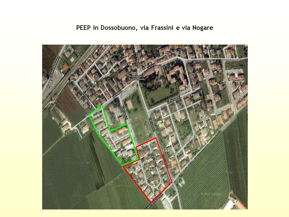 PEEP in Dossobuono, via Frassini e via Nogare