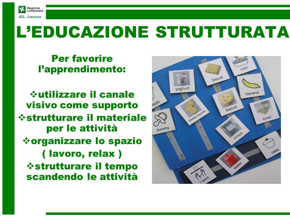 L'EDUCAZIONE STRUTTURATA
