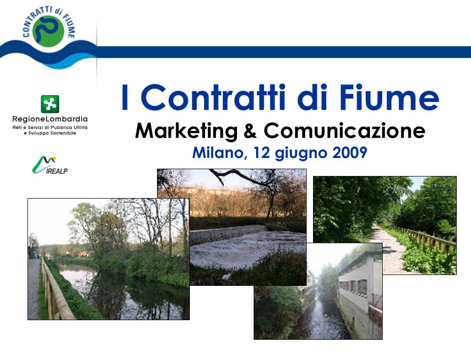 I Contratti di Fiume Marketing & Comunicazione