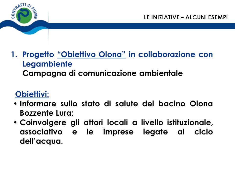 Progetto Obiettivo Olona in collaborazione con Legambiente
