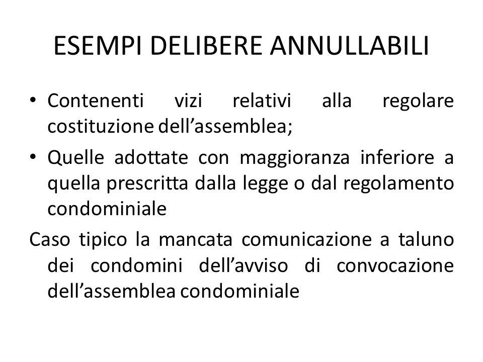 Art c c impugnazione delle deliberazioni dell 39 assemblea for Impugnazione delibera condominiale