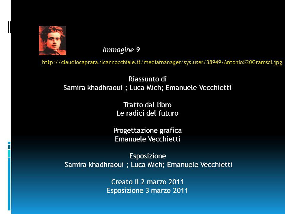 Samira khadhraoui ; Luca Mich; Emanuele Vecchietti Tratto dal libro