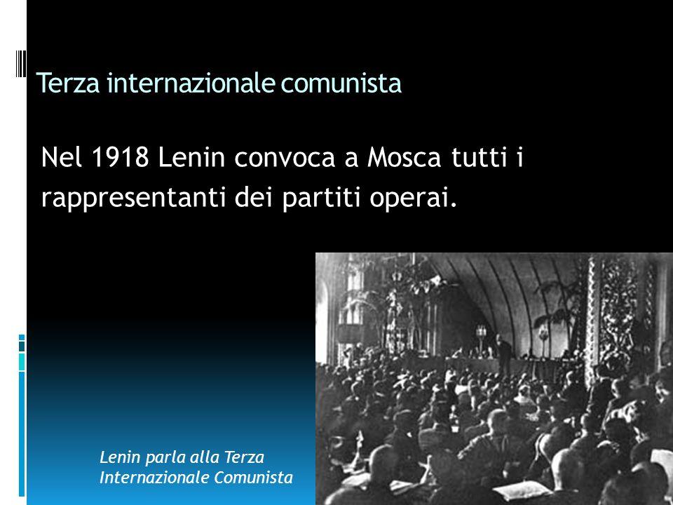 Terza internazionale comunista