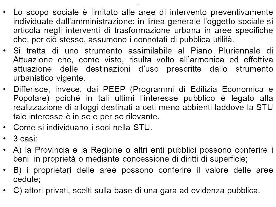 Come si individuano i soci nella STU. 3 casi: