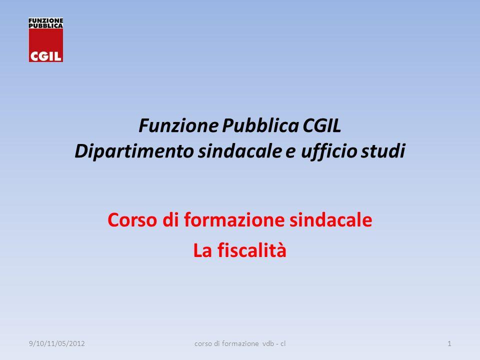 Funzione Pubblica CGIL Dipartimento sindacale e ufficio studi