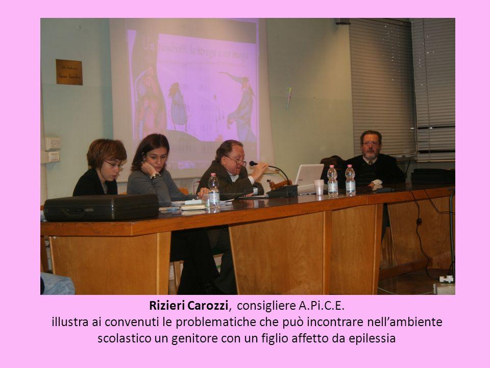 Rizieri Carozzi, consigliere A.Pi.C.E.