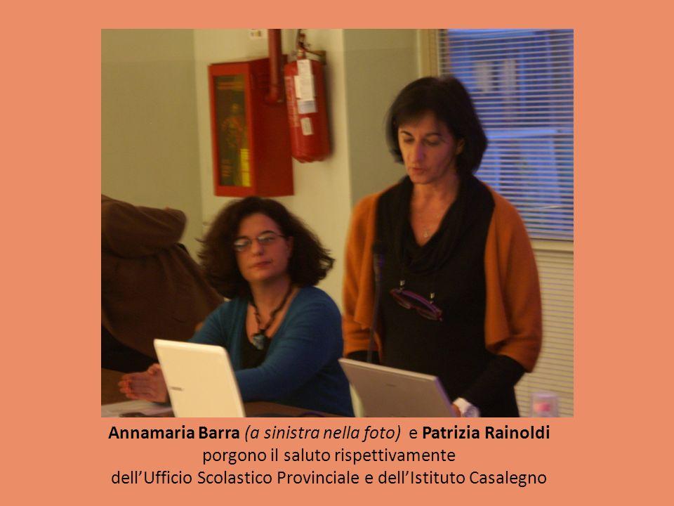 Annamaria Barra (a sinistra nella foto) e Patrizia Rainoldi