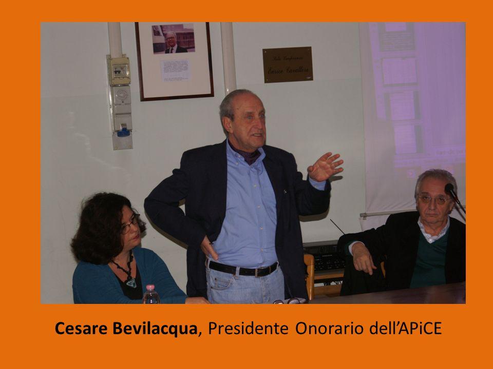 Cesare Bevilacqua, Presidente Onorario dell'APiCE