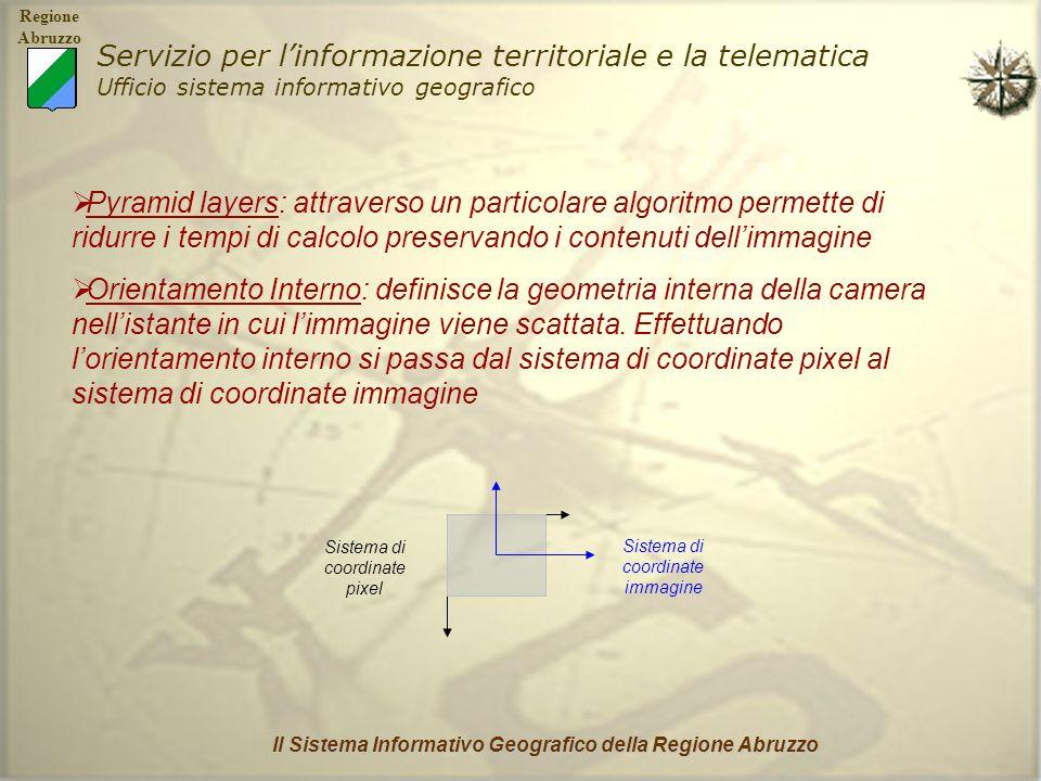 Il Sistema Informativo Geografico della Regione Abruzzo