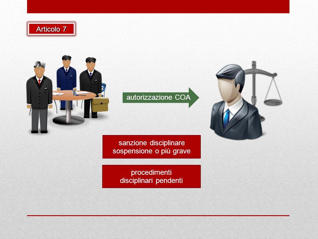 sanzione disciplinare sospensione o più grave