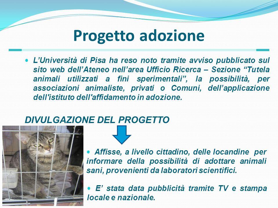 Progetto adozione DIVULGAZIONE DEL PROGETTO