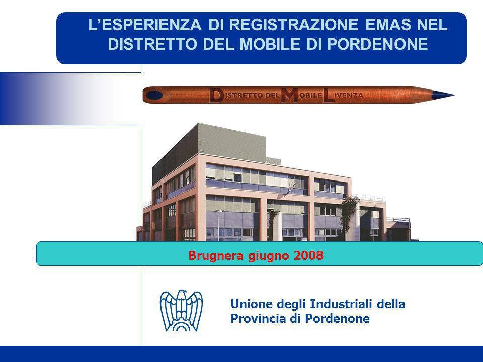 L'ESPERIENZA DI REGISTRAZIONE EMAS NEL DISTRETTO DEL MOBILE DI PORDENONE