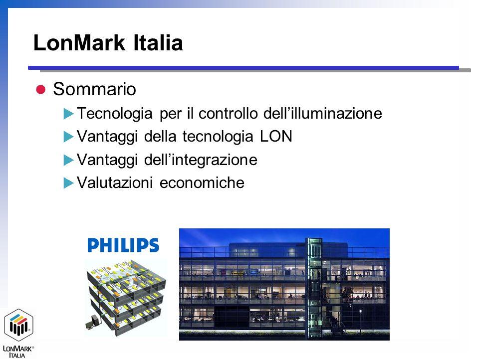 LonMark Italia Sommario Tecnologia per il controllo dell'illuminazione
