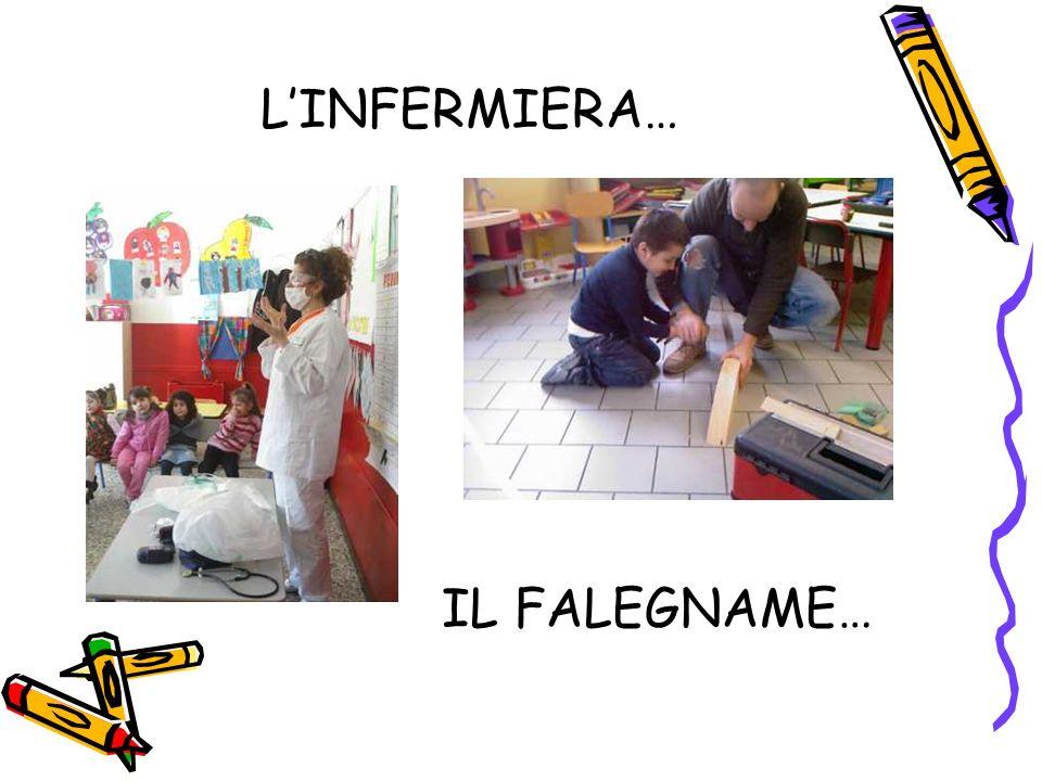 L'INFERMIERA… IL FALEGNAME…
