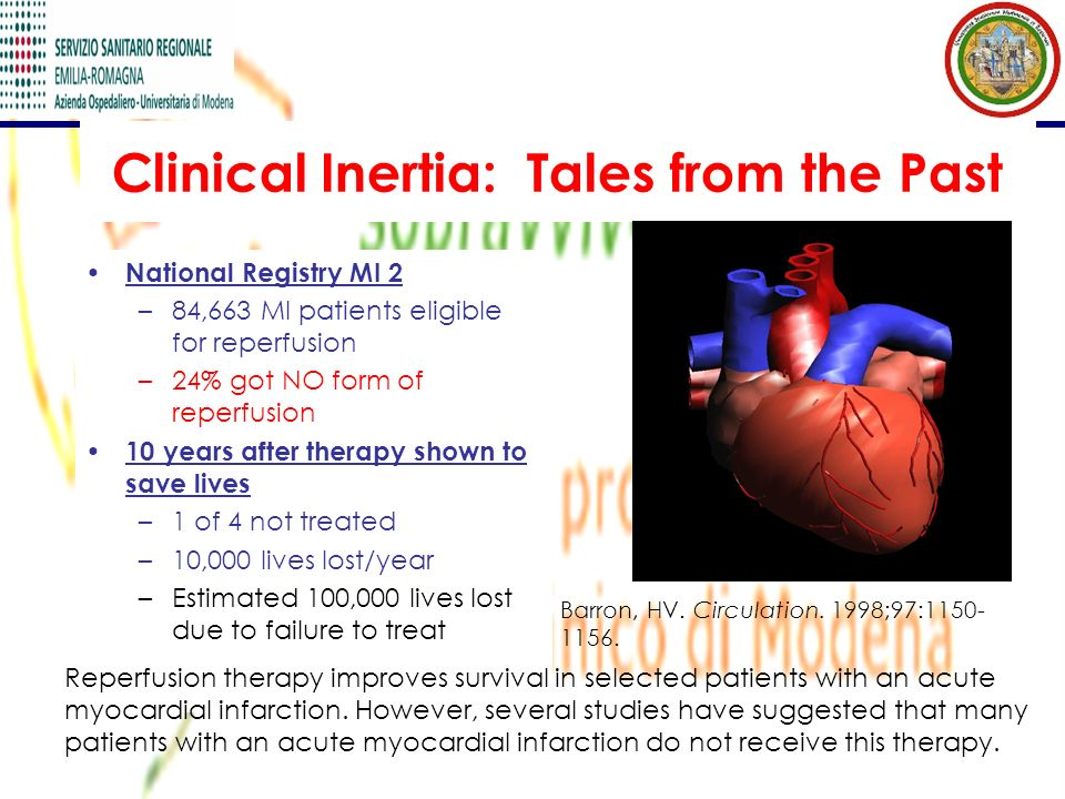 Clinical Inertia: Tales from the Past
