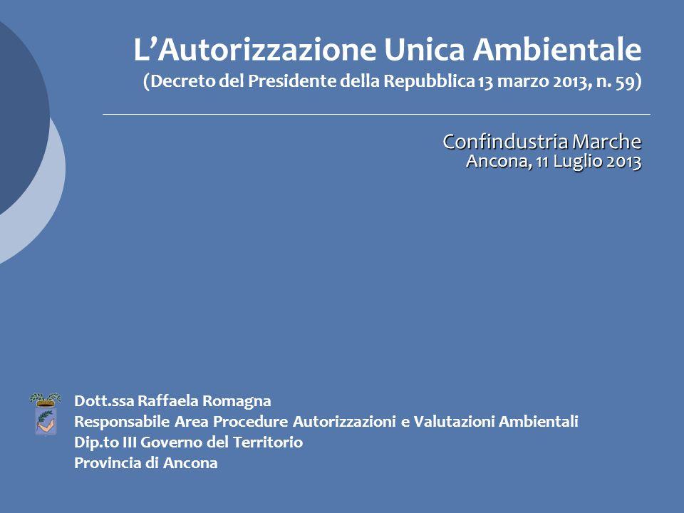 Confindustria Marche Ancona, 11 Luglio 2013