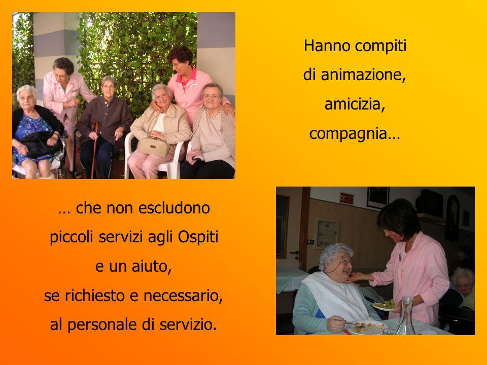 piccoli servizi agli Ospiti e un aiuto, se richiesto e necessario,