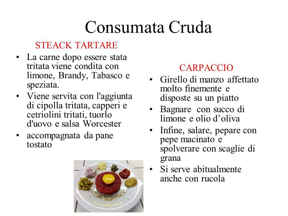 Consumata Cruda STEACK TARTARE