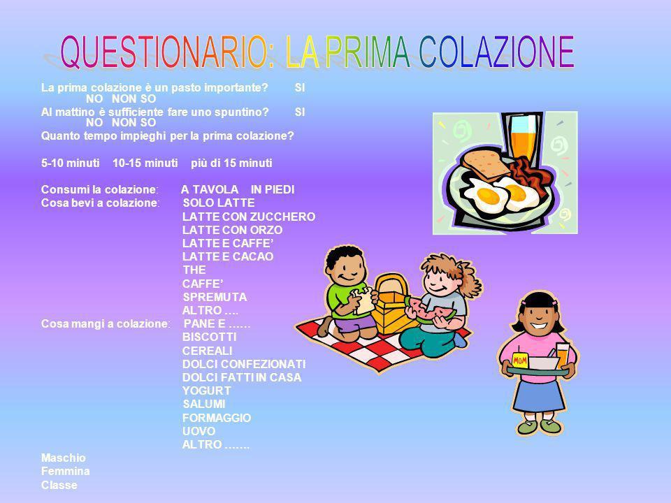 Alimentazione a cura della classe quinta della scuola primaria c collodi ins sandra fabris e - Cosa si intende per prima casa ...