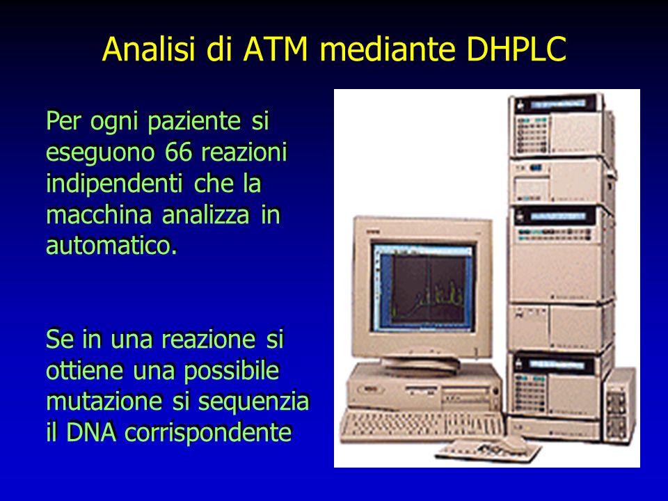 Analisi di ATM mediante DHPLC