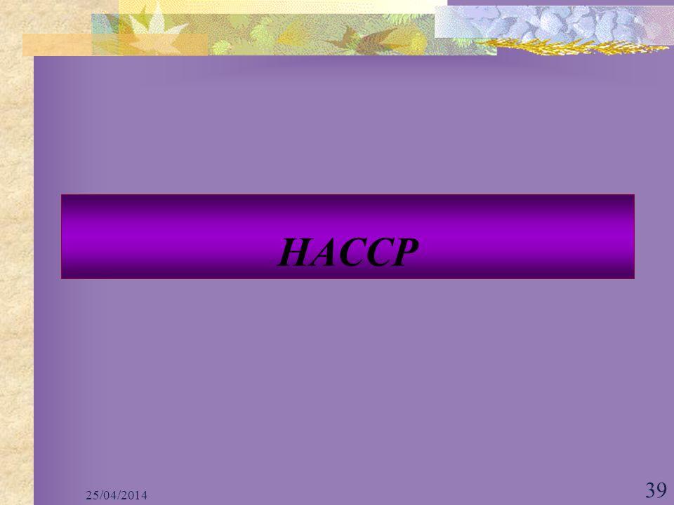 HACCP 29/03/2017