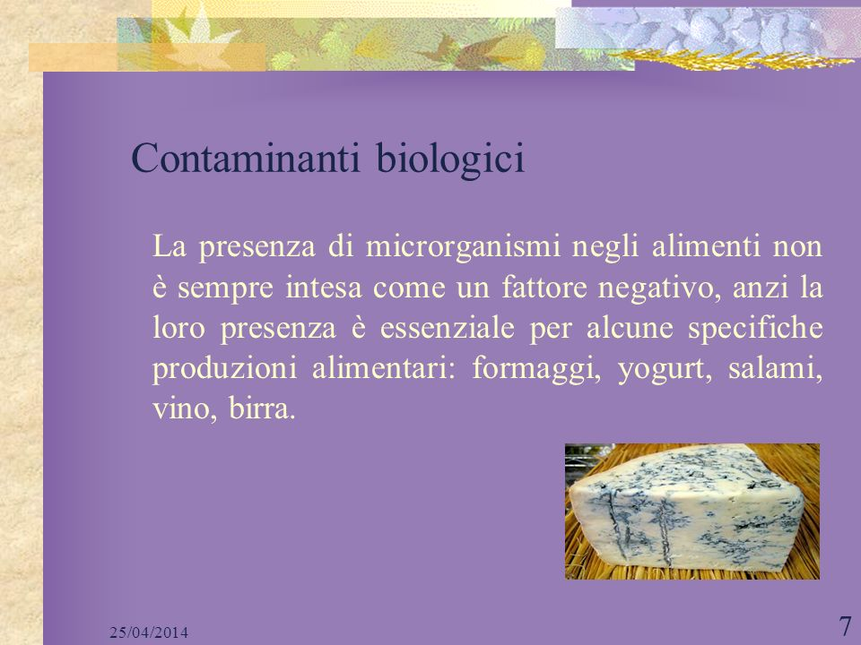 Contaminanti biologici