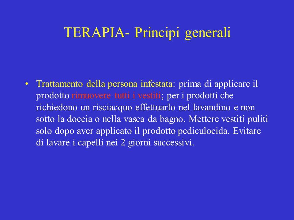 TERAPIA- Principi generali