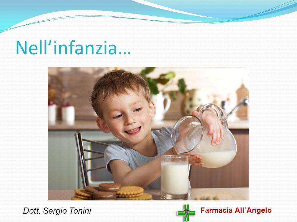 Nell'infanzia… Dott. Sergio Tonini Farmacia All'Angelo