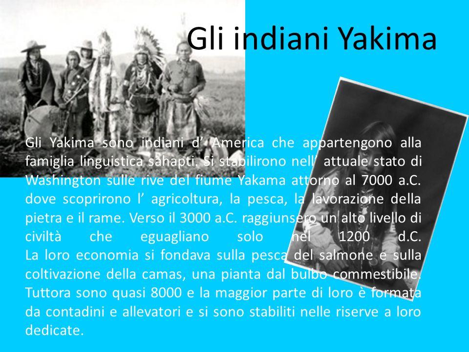 Gli indiani Yakima