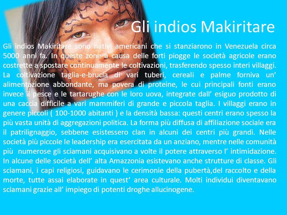 Gli indios Makiritare