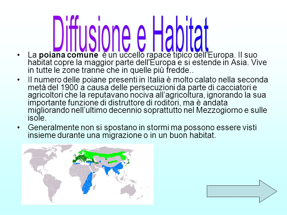 Diffusione e Habitat