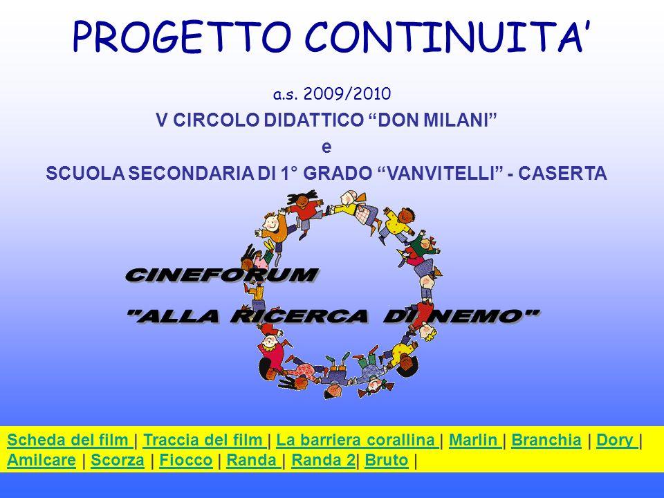 PROGETTO CONTINUITA' a.s. 2009/2010