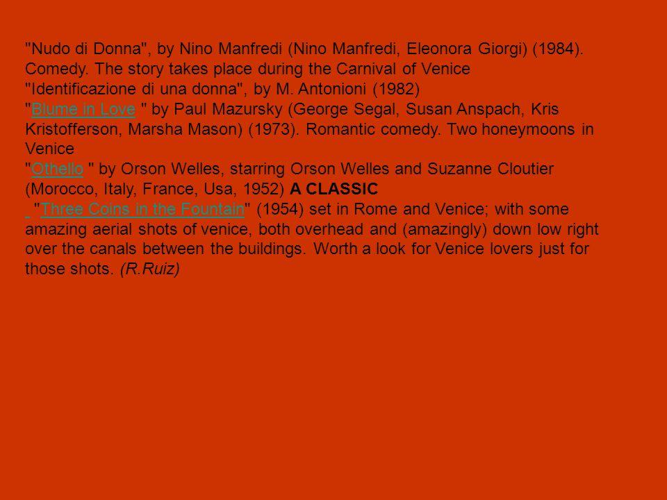 Identificazione di una donna , by M. Antonioni (1982)