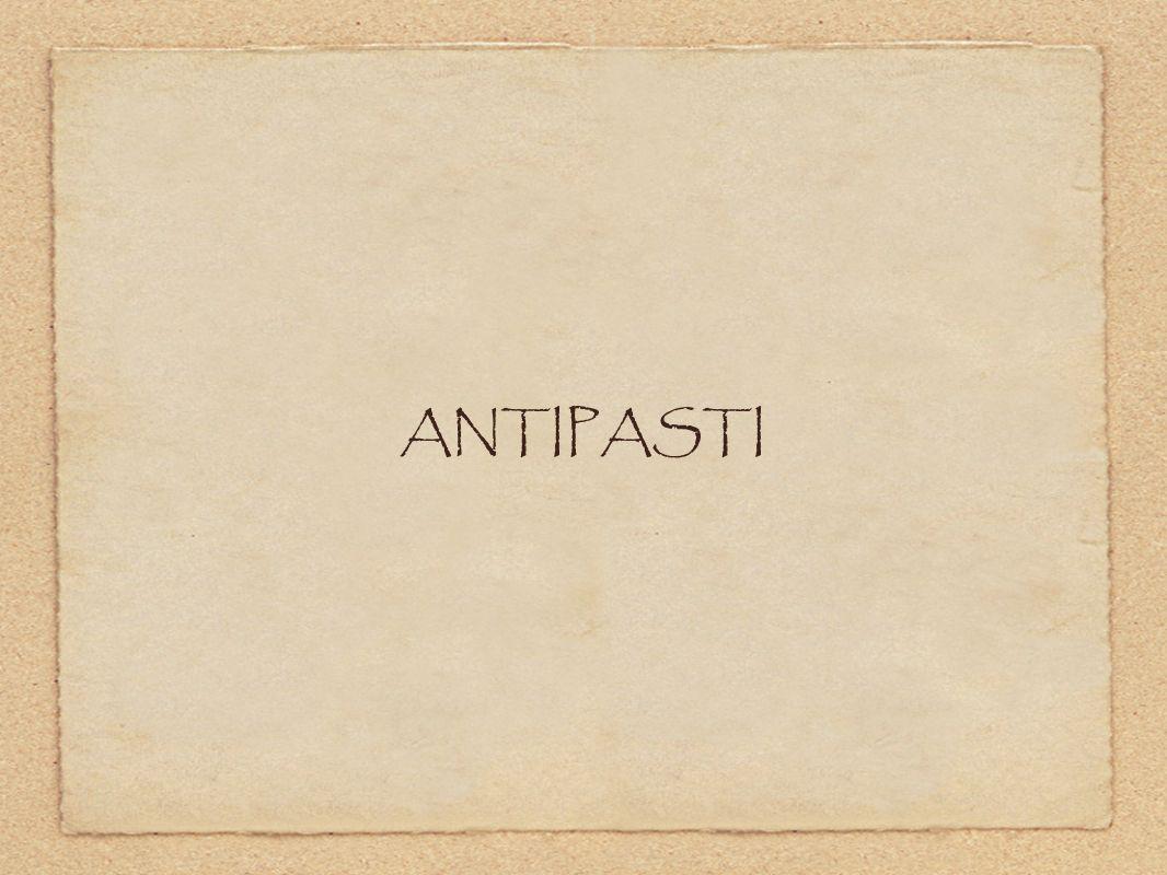 ANTIPASTI