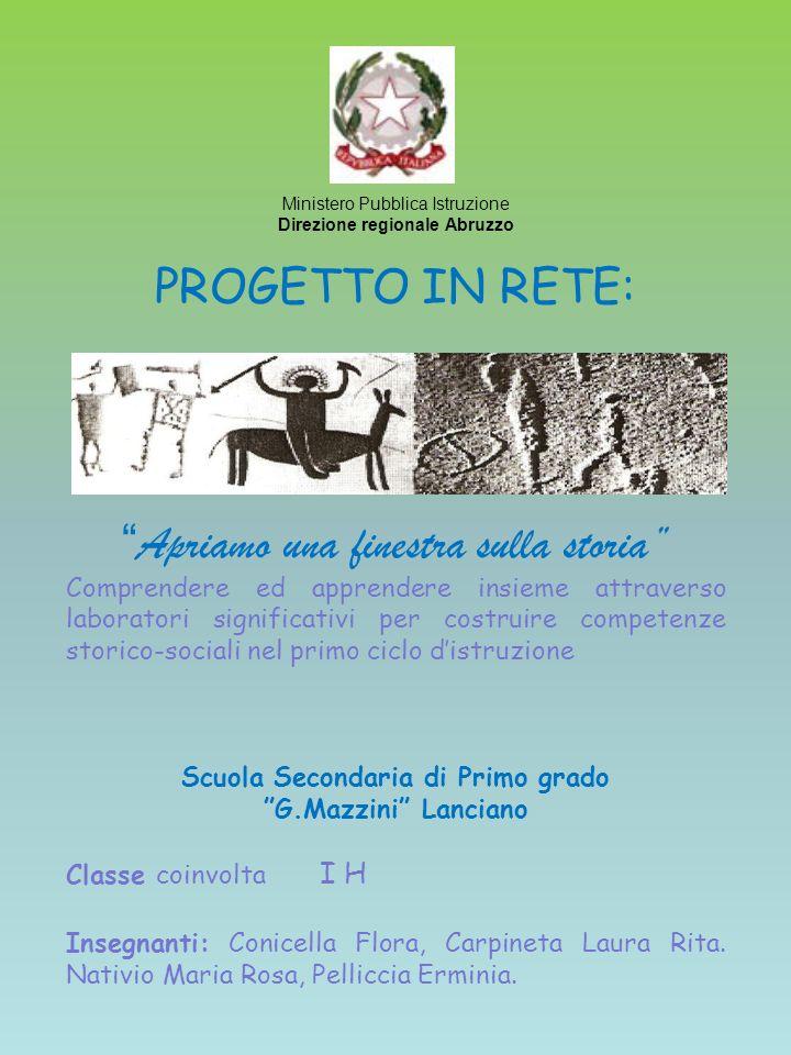 Direzione regionale Abruzzo Scuola Secondaria di Primo grado