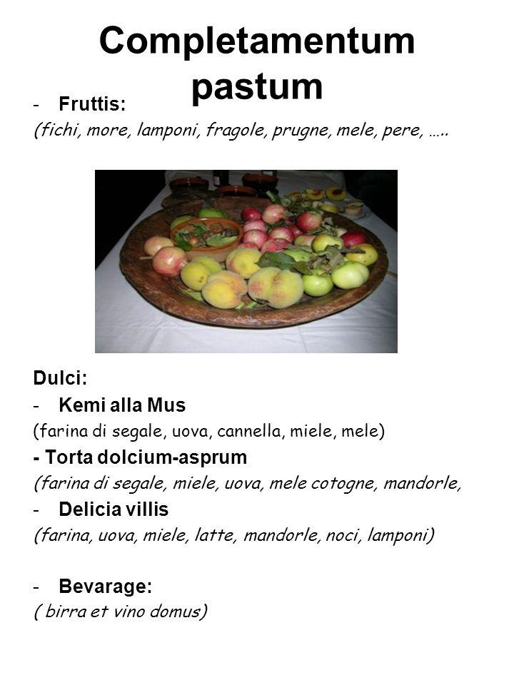 Completamentum pastum