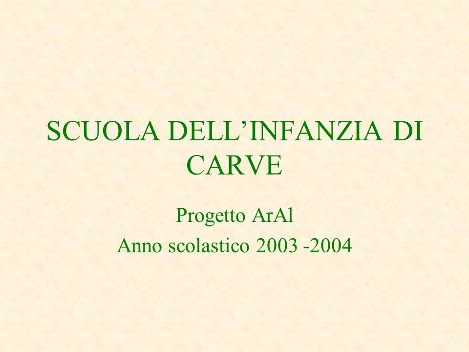 SCUOLA DELL'INFANZIA DI CARVE