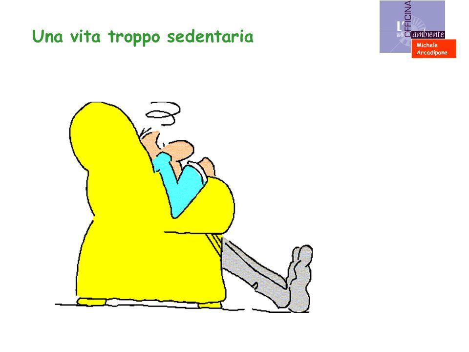 Una vita troppo sedentaria