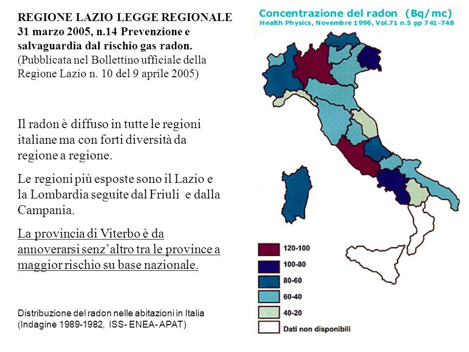 REGIONE LAZIO LEGGE REGIONALE
