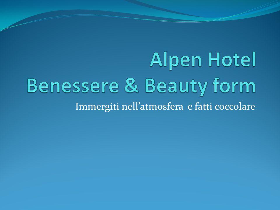 Alpen Hotel Benessere & Beauty form