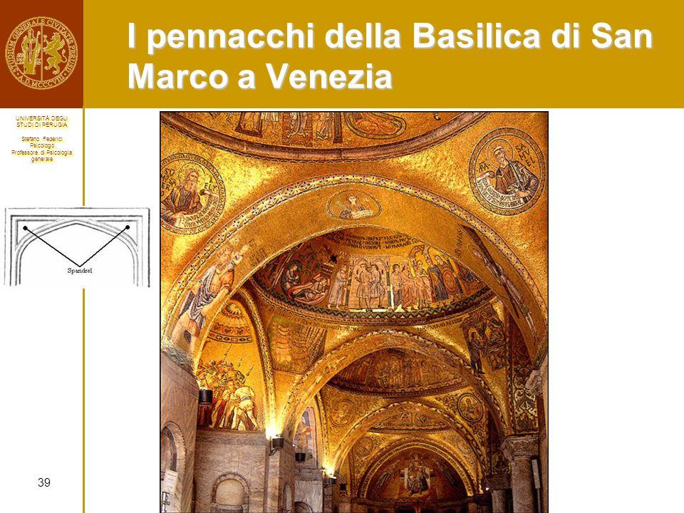 I pennacchi della Basilica di San Marco a Venezia