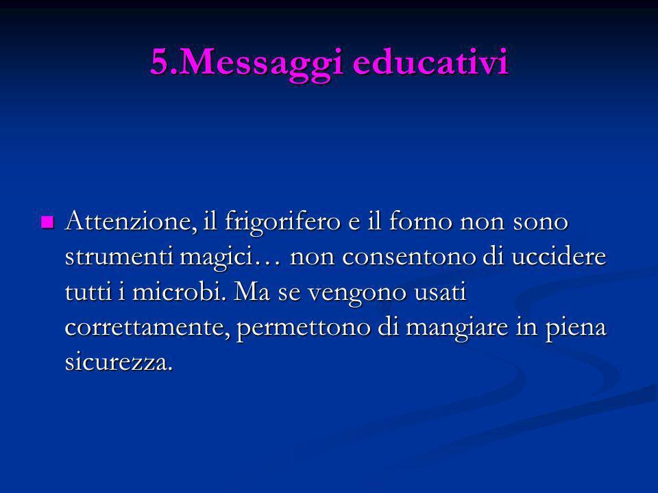 5.Messaggi educativi