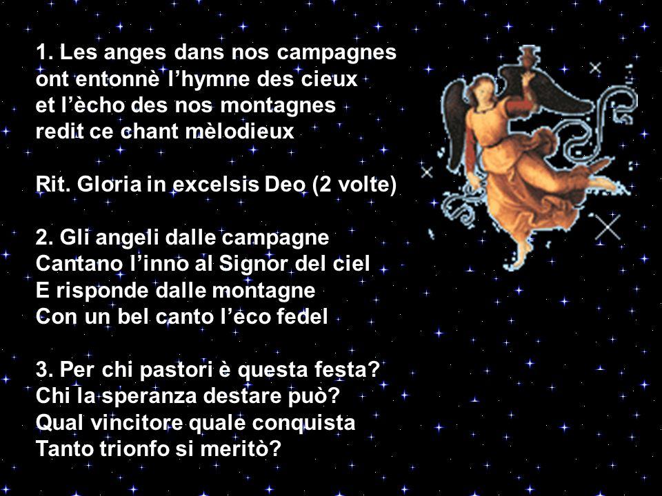 1. Les anges dans nos campagnes