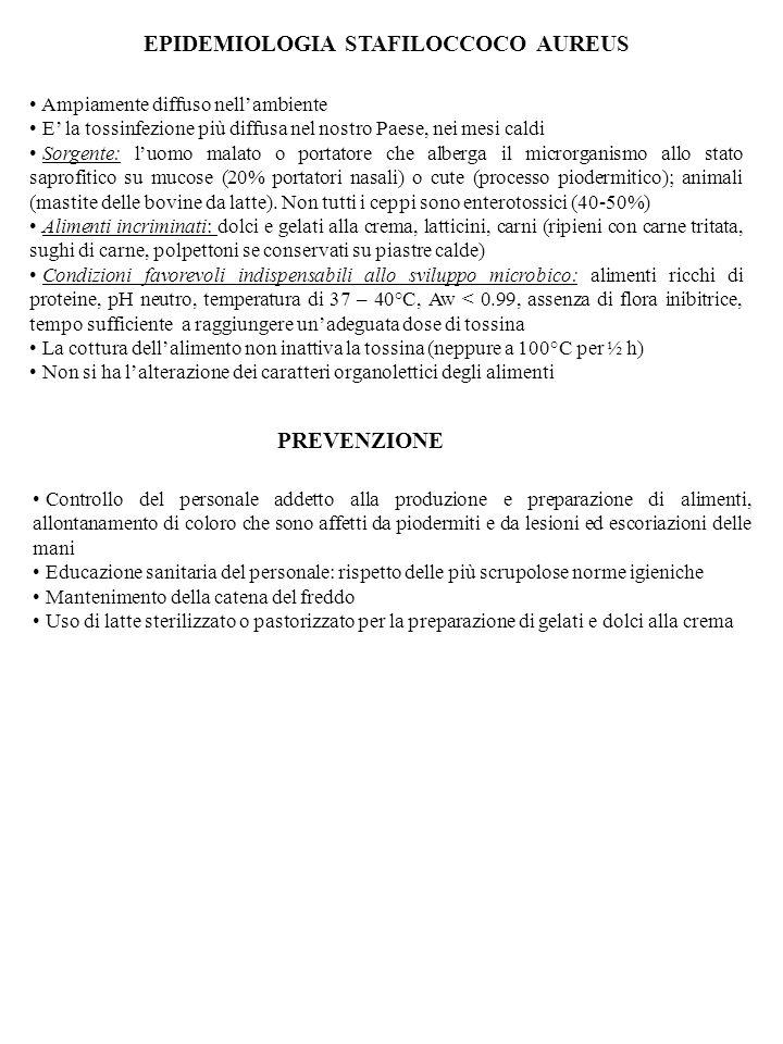 EPIDEMIOLOGIA STAFILOCCOCO AUREUS