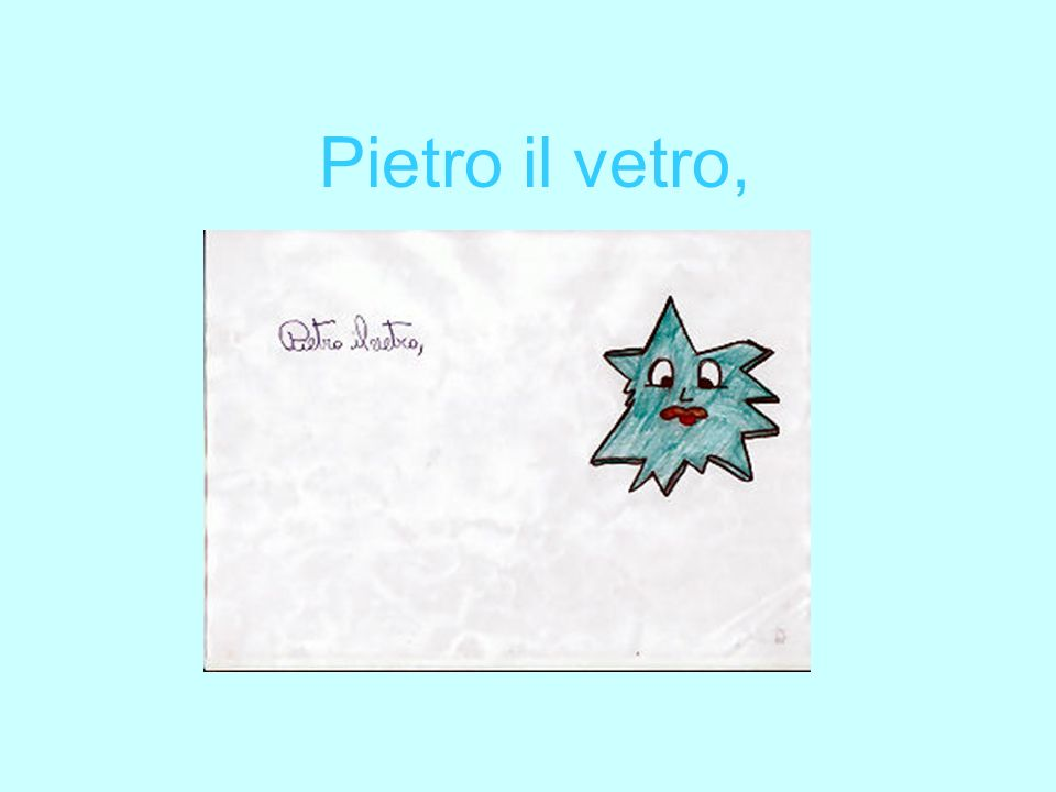 Pietro il vetro,