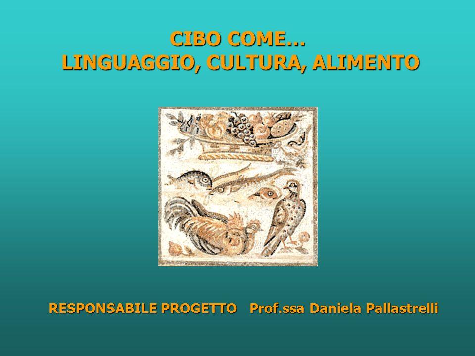 CIBO COME… LINGUAGGIO, CULTURA, ALIMENTO
