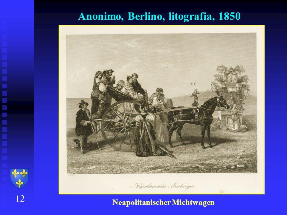 Anonimo, Berlino, litografia, 1850