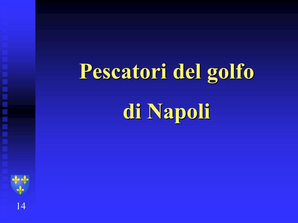 Pescatori del golfo di Napoli